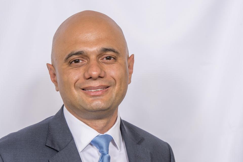 Home Secretary, Sajid Javid.