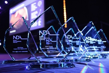 A series of awards for NDA Group supply chain winners