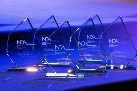 The annual awards recognise the vital contribution of suppliers to the UK's nuclear clean-up mission.