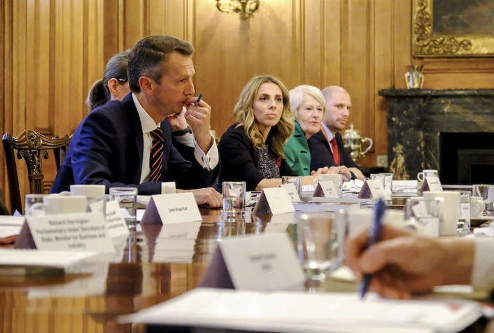 Industrial Strategy Council first meeting at 10 Downing Street