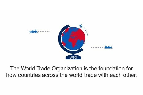 An infographic detailing the role of the World Trade Organisation