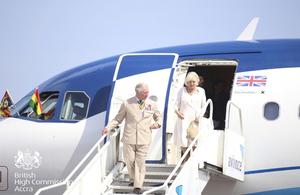 Their Royal Highnesses in Ghana