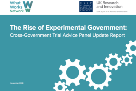 Front cover of Rise of Experimental Government report