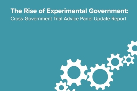 The Rise of the Experimental Government report cover image.