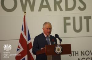 HRH Prince of Wales keynote speech in Accra