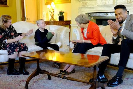PM meets Pride of Britain winners