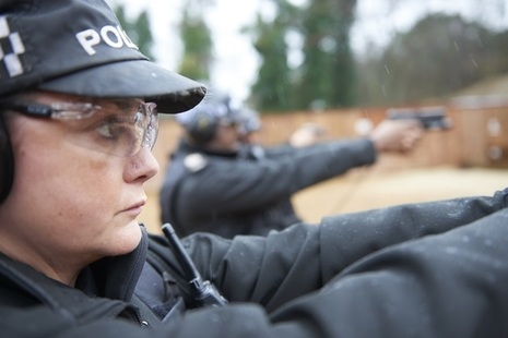 CNC authorised firearms officer training