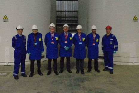 CoRWM visit to Sizewell B