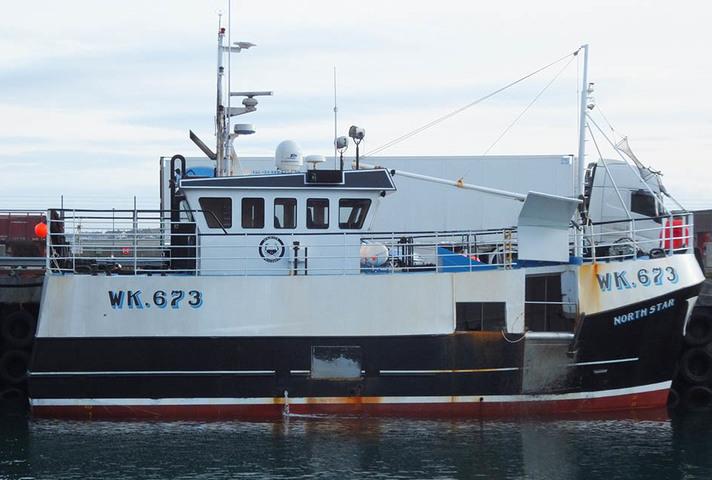 Creel fishing vessel North Star