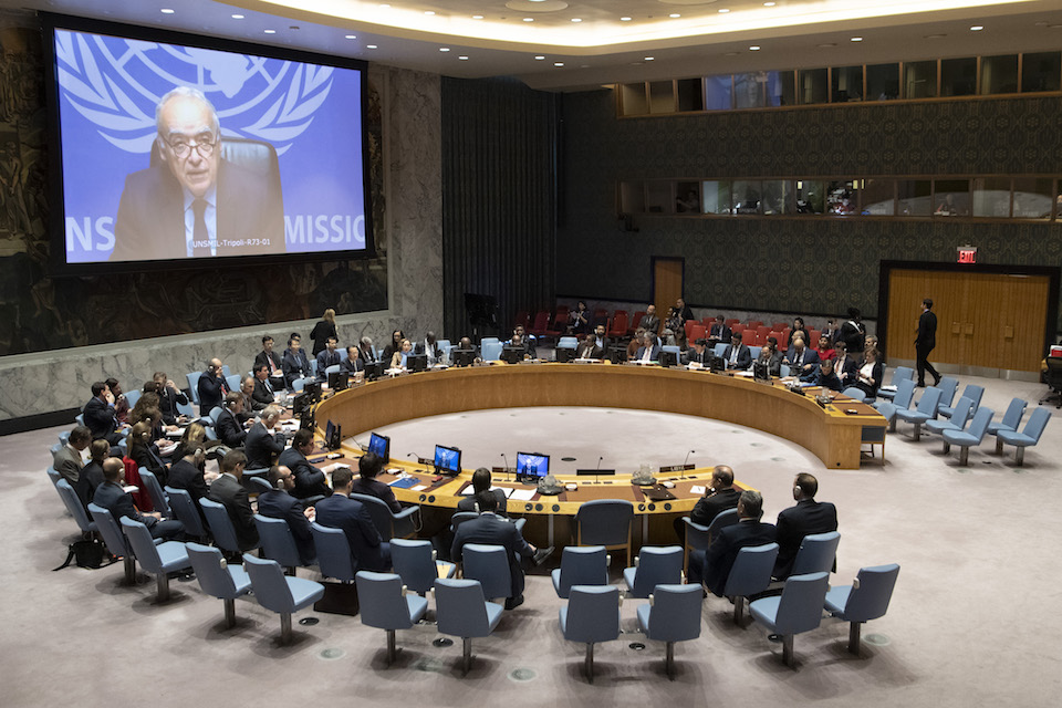 UN Security Council Briefing on Libya (UN Photo)