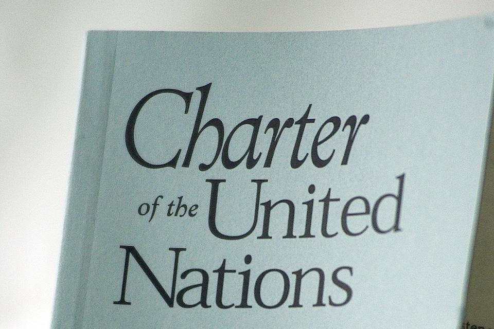 UN Charter (UN Photo)