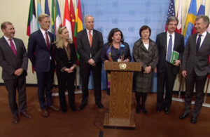 EU8 members of the UN Security Council joint statement on Ukraine