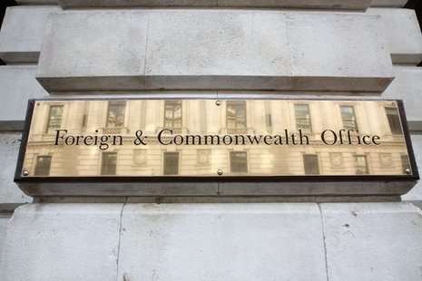 Foreign and Commonwealth sign