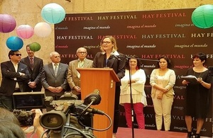 4th Hay Festival Arequipa kicks-off with 15 guests from the UK