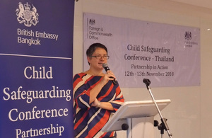 The Child Safeguarding in Thailand conference