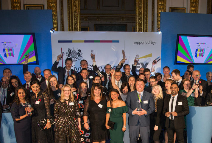 Civil Service Awards winners 2018