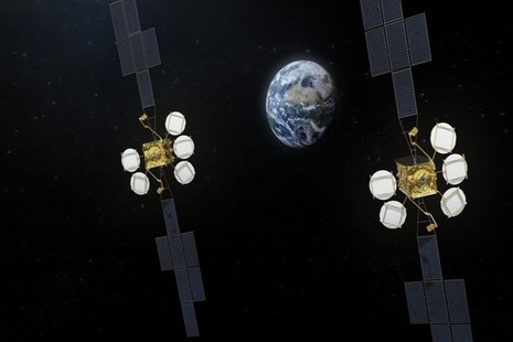 Satellites in space Credit: Airbus