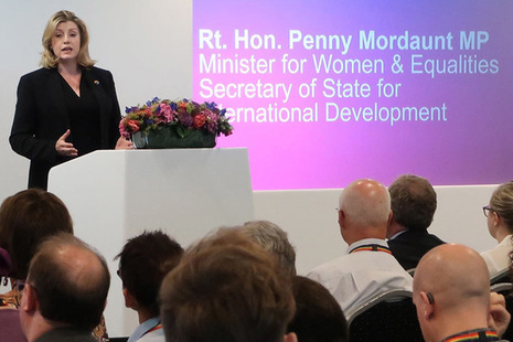 Minister for Women and Equalities Penny Mordaunt
