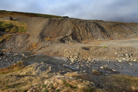 Dylife mine site. Credit: © Paul Edwards, Natural Resources Wales