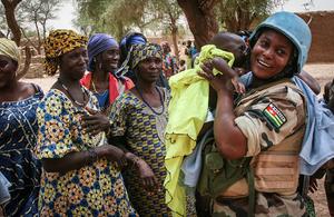 UN peacekeeper (UN Photo)
