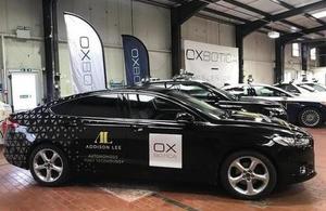 Oxbotica self-driving cars