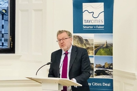 Secretary of State for Scotland, David Mundell announces Tay Cities Deal