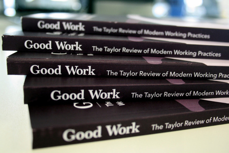 Stack of review reports
