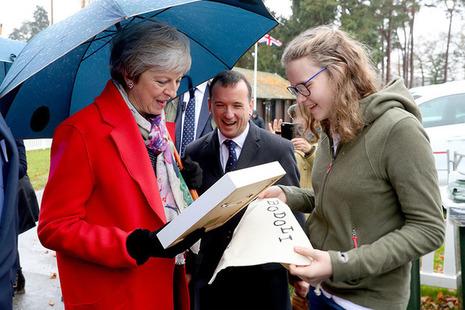 PM visits Wales
