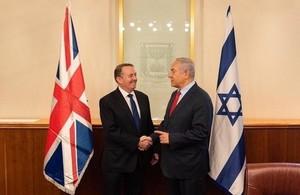 Liam Fox and Binyamin Netanyahu