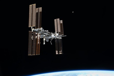 International Space Station. Credit: ESA/NASA.