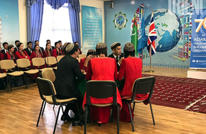 Brain Ring contest in Turkmenistan