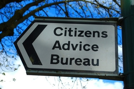 Out-of-home signage for the Citizens Advice Bureau