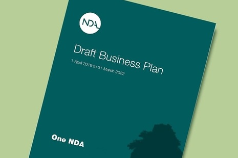 The NDA's draft business plan