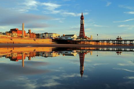 Blackpool pier.