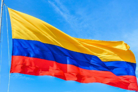 Picture of the Colombian Flag