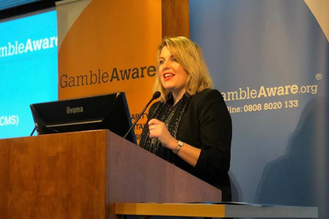 Mims Davies at Gamble Aware