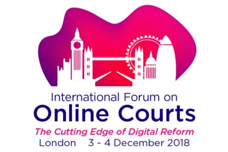 Online courts forum logo
