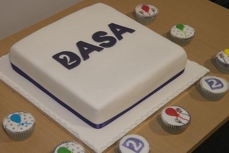 DASA cake on 2nd anniversary