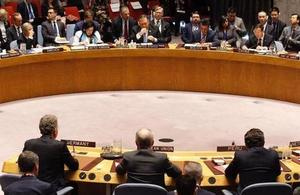 UN Security Council Briefing on Nuclear Non-Proliferation