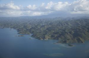 An aerial view of Haiti (UN Photo)