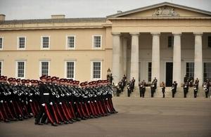 Sovereign's Parade RMAS