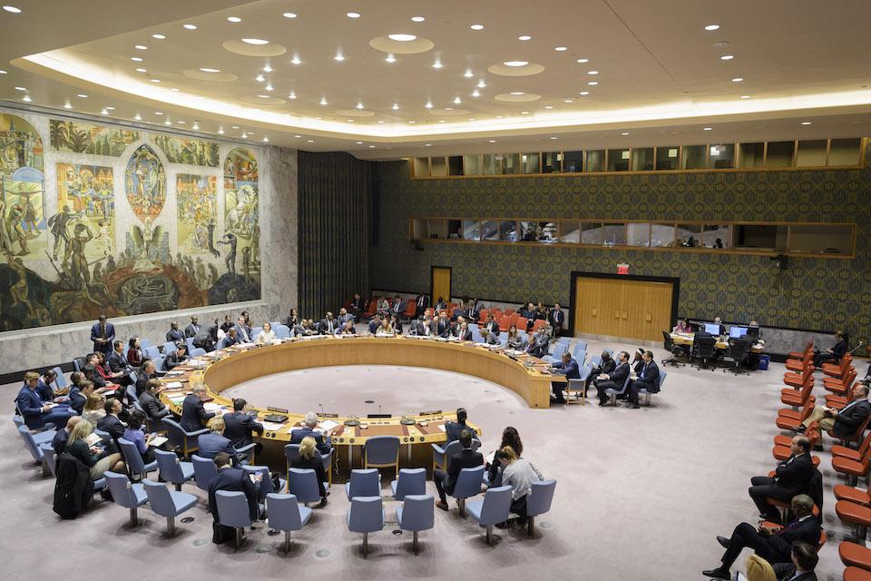 UN Security Council briefing on UNOCA (UN Photo)