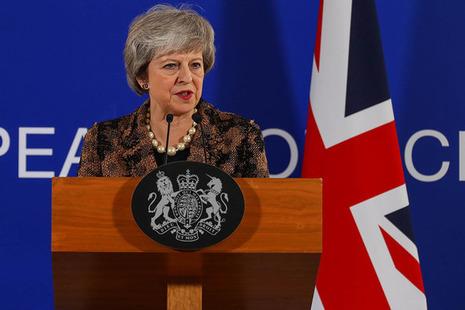 PM Theresa May press statement at European Council