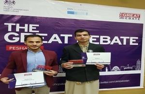 British High Commission brings GREAT debate to Peshawar