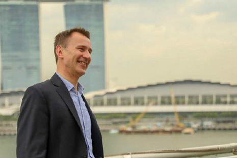 Jeremy Hunt in Singapore