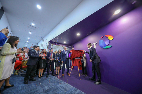 Foreign Secretary Hunt opens new flagship BT office in Singapore