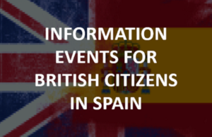 Information and events for British citizens in Spain