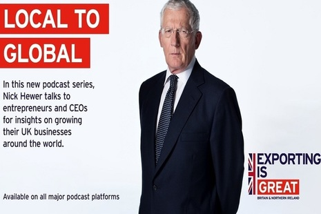 Local to Global podcast, with Nick Hewer.