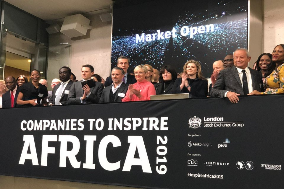 Penny Mordaunt launches Companies to Inspire Africa 2019 - GOV UK