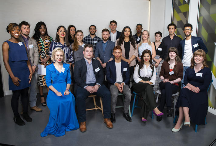 The winners of Innovate UK's young innovators award.